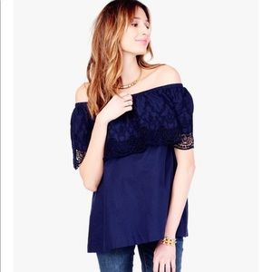 Ingrid and Isabel maternity top